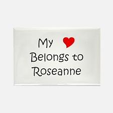 Unique Roseanne Rectangle Magnet