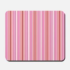 Pink Candystriper Mousepad