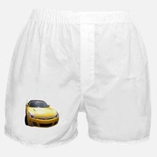SKY-FRONT & REAR Boxer Shorts