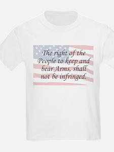 2nd Amend. / Flag T-Shirt