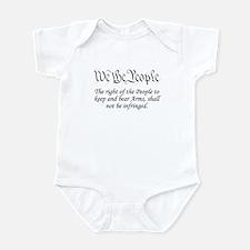 2nd / WTP / White Infant Bodysuit