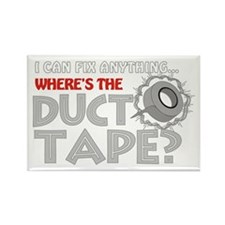 Duct Tape Rectangle Magnet (100 pack)