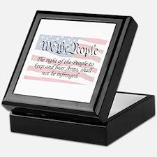 2nd / WTP / Flag Keepsake Box