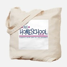 Homeschool Mom for Sarah Pali Tote Bag