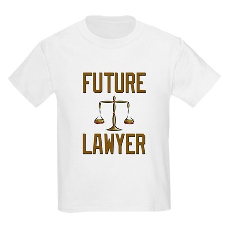 Future Lawyer Kids Light T-Shirt