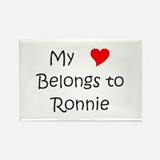 Cute Ronnie Rectangle Magnet