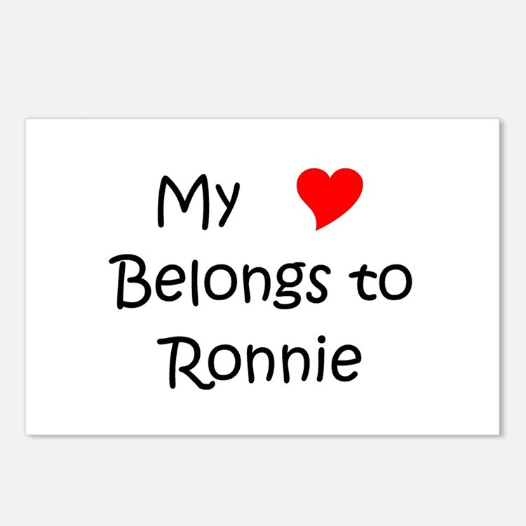 Cute Ronnie Postcards (Package of 8)