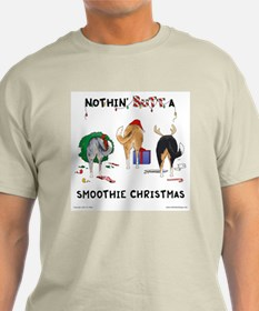 Nothin' Butt A Smoothie Xmas T-Shirt