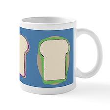 3 yummy sandwiches Mug