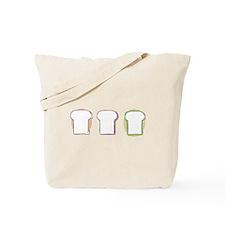 3 yummy sandwiches Tote Bag