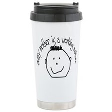 Baby's Face #2 Travel Coffee Mug