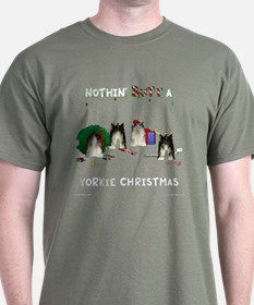 Nothin' Butt A Yorkie Xmas T-Shirt