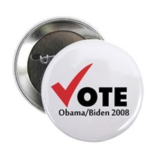 "Vote Obama Biden 2008 2.25"" Button"