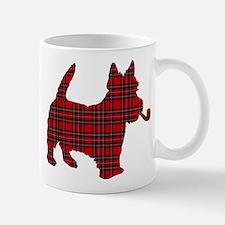 Scottish Terrier Tartan Mug