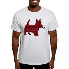 Scottish Terrier Tartan T-Shirt