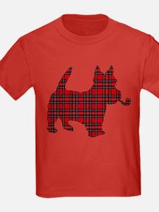 Scottish Terrier Tartan T