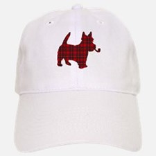 Scottish Terrier Tartan Baseball Baseball Cap