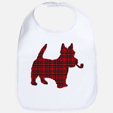 Scottish Terrier Tartan Bib