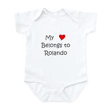 Cool Rolando Infant Bodysuit