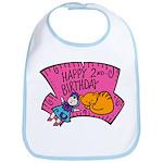 Happy 2nd Birthday Bib