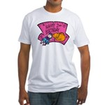 Happy 2nd Birthday Fitted T-Shirt