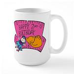 Happy 2nd Birthday Large Mug