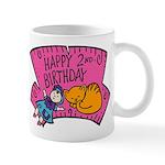 Happy 2nd Birthday Mug