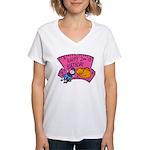 Happy 2nd Birthday Women's V-Neck T-Shirt