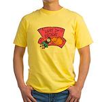 Happy 2nd Birthday Yellow T-Shirt