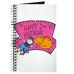 Happy 2nd Birthday Journal