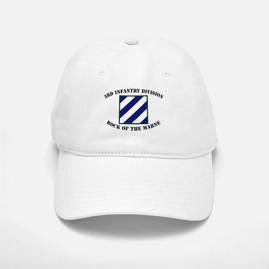 3ID Rock of the Marne Baseball Baseball Cap