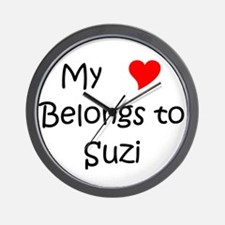 Cute Suzi Wall Clock