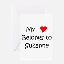 Unique Suzanne Greeting Card