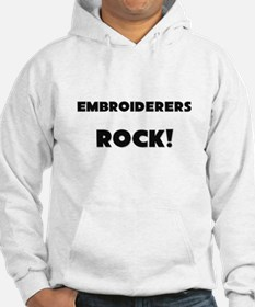 Embroiderers ROCK Hoodie