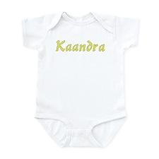 Kaandra in Gold - Infant Bodysuit