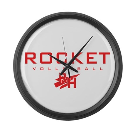Rocket Large Wall Clock