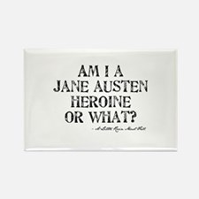 Jane Austen Quote Rectangle Magnet (100 pack)