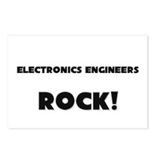 Electronics Engineers ROCK Postcards (Package of 8
