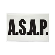 A.S.A.P. Rectangle Magnet