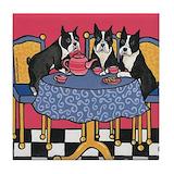 Boston terrier Kitchen & Entertaining