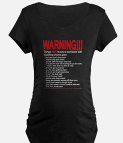 Pain Warning T-Shirt