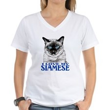 I Love My SIAMESE Shirt