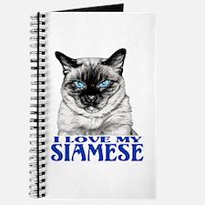 I Love My SIAMESE Journal