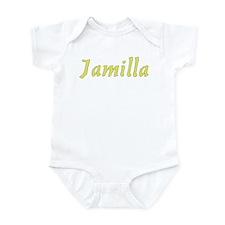 Jamilla in Gold - Infant Bodysuit