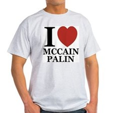 I Luv McCain Palin T-Shirt