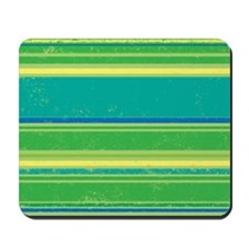 Green Bands Mousepad