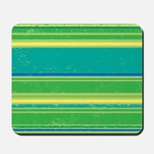 Green Bands Mousepad