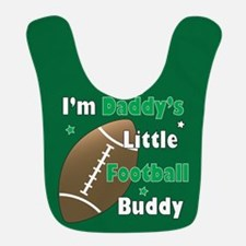 Dad Football Buddy Polyester Baby Bib