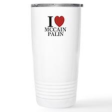 I Luv McCain Palin Travel Mug