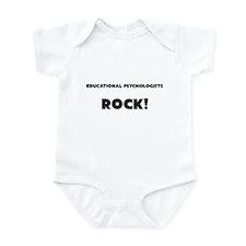 Educational Psychologists ROCK Infant Bodysuit